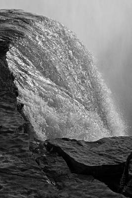 Photograph - Over The Falls I by Kathi Isserman