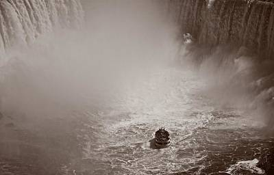 Photograph - Over The Falls by Kathi Isserman