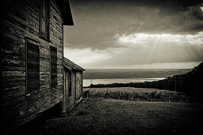Photograph - Over The Lake by Marvin Borst