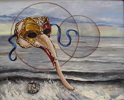 Over The Ocean Art Print by Ixchel Amor