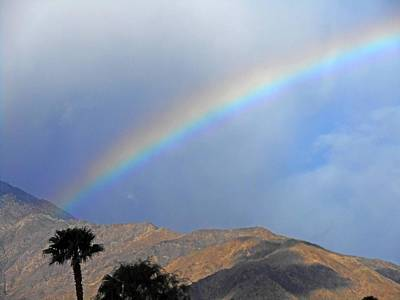 Photograph - Over The Rainbow 2 by Ron Kandt
