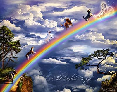 Phil Clark Digital Art - Over The Rainbow Bridge by Phil Clark