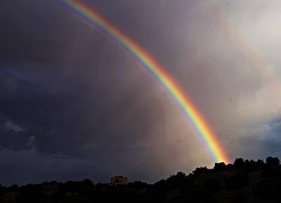 Over The Rainbow Print by Joseph Frank Baraba