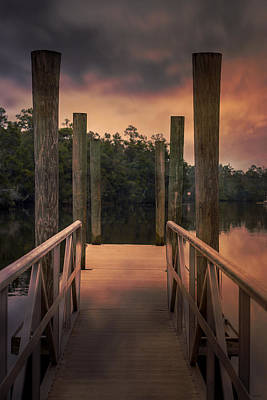 Photograph - Over The River by Mechala Matthews