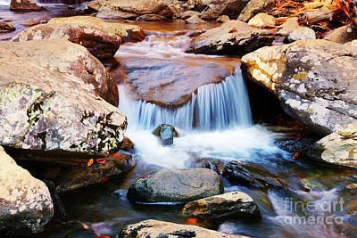 Photograph - Over The Rocks by Rebecca Davis