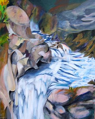 Over The Top Art Print by Patricia Bigelow