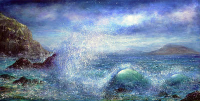 Painting - Over The Waves by Ann Marie Bone