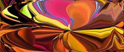 Digital Art - Over Under by Phillip Mossbarger