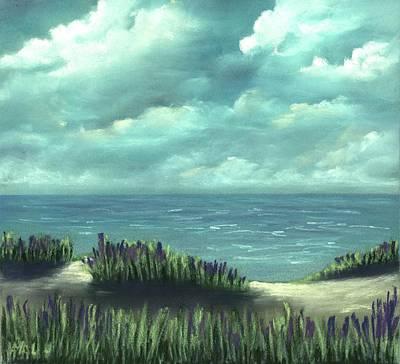 Painting - Overcast by Anastasiya Malakhova
