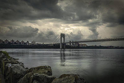 Photograph - Overcast And A Bridge by Jorge Perez - BlueBeardImagery