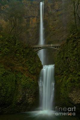 Photograph - Overcast At Multnomah by Adam Jewell