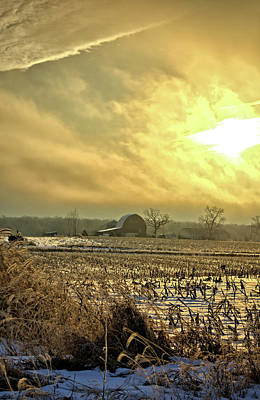 Photograph - Overcast Sunrise by Bonfire Photography