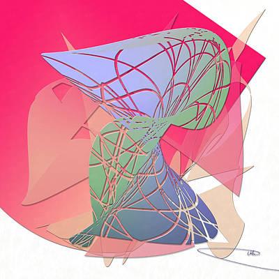 Christina Digital Art - Overcast by Warren Lynn