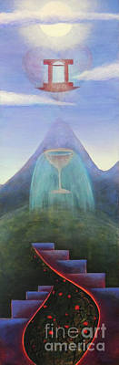 Excalibur Painting - Overflowing Wellspring Of The Heart by Chloe Ulis