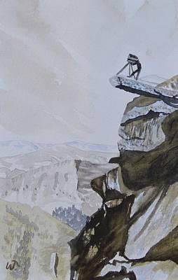 Overhanging Rock Original