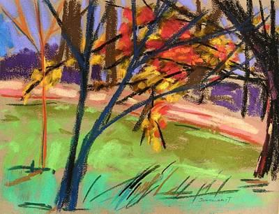 Overhangs The Path Art Print by John Williams