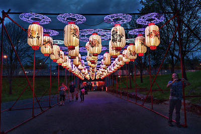 Photograph - Overhead Lights by Sharon Popek
