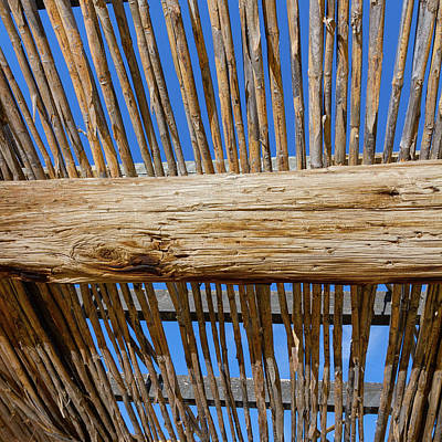 Photograph - Overhead Shelter by SR Green
