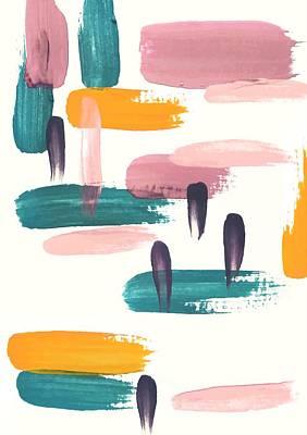 Painting - Overlap by Cortney Herron
