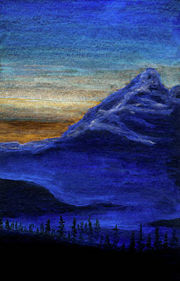 Painting - Overlook At Dusk by R Kyllo