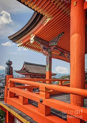 Photograph - Overlook At Kiyomizudera by Karen Jorstad