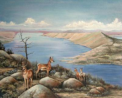Painting - Overlook by Cynara Shelton