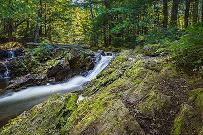 Photograph - Overlook Falls by Jack R Perry
