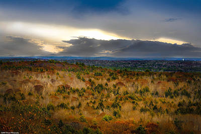 Photograph - Overlook From Bradbury Mountain  by Debra Forand