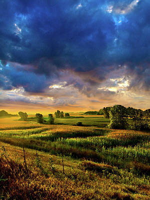 Farmland Photograph - Overlooked by Phil Koch