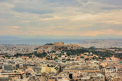 Photograph - Overlooking Athens by Vicki Spindler