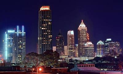 Overlooking Atlanta Art Print by Frozen in Time Fine Art Photography