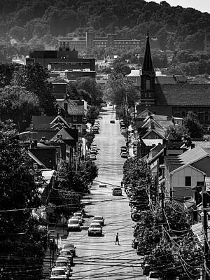 Photograph - Overlooking Bethlehem, Pa by Jim Cheney