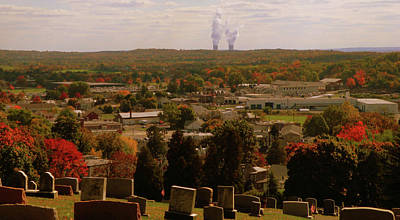 Photograph - Overlooking Boyertown In The Fall by Trish Tritz