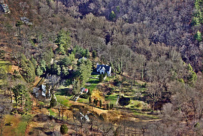 Wissahickon Photograph - Overlooking Cresheim Valley by Duncan Pearson