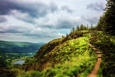 Photograph - Overlooking Glendalough On The Wicklow Way by Debra and Dave Vanderlaan