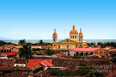 Photograph - Overlooking Granada, Nicaragua by Graesen Arnoff