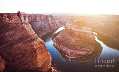 Photograph - Overlooking Horseshoe Bend by JR Photography