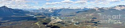 Photograph - Overlooking Jasper Panorama by Adam Jewell