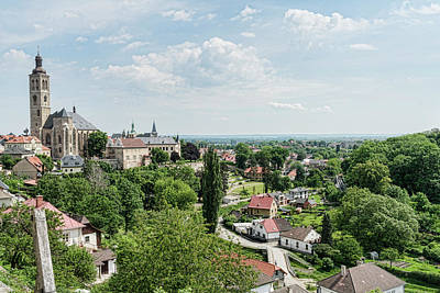 Photograph - Overlooking Kutna Hora by Sharon Popek