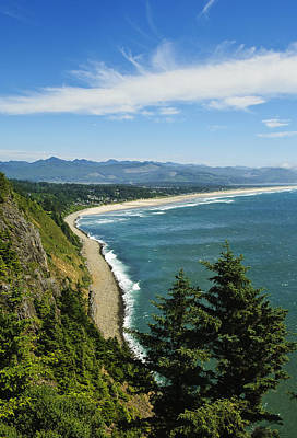 Photograph - Overlooking Nehalem Bay by Greg Vaughn - Printscapes
