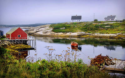 Photograph - Overlooking Peggys Cove by Carolyn Derstine