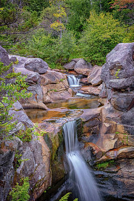 Photograph - Overlooking Screw Auger Falls by Rick Berk