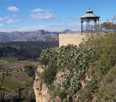 Rights Managed Images Photograph - Overlooking Spain by David and Lynn Keller