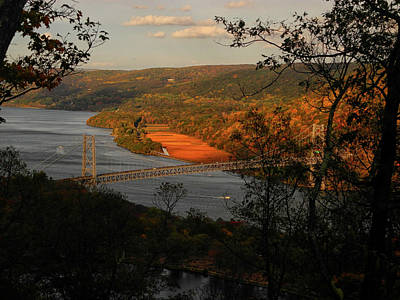 Photograph - Overlooking The Bear Mountain Bridge From Bear Mountain  by Raymond Salani III