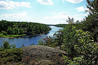 Photograph - Overlooking The Key River by Debbie Oppermann