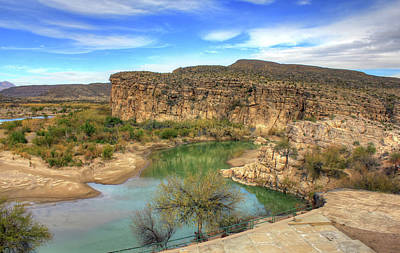 Photograph - Overlooking The Rio Grande by Ellen Henneke