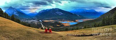 Photograph - Overlooking The Town Of Banff by Adam Jewell