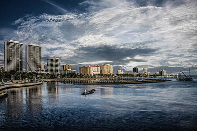 Photograph - Overlooking West Palm Beach by Debra and Dave Vanderlaan