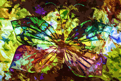 Contemporary Jewellery Digital Art - Overly Painted Lady by Andy Young
