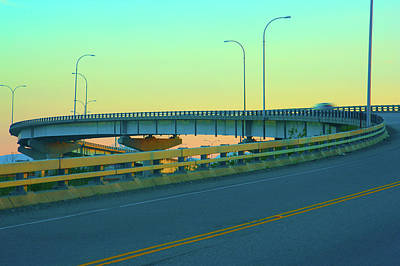 Overpass Art Print by Paul Kloschinsky